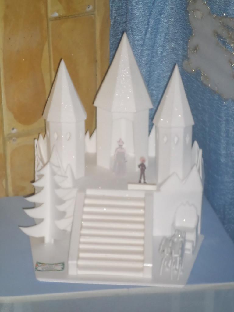 Замок для снежной королевы своими руками 26